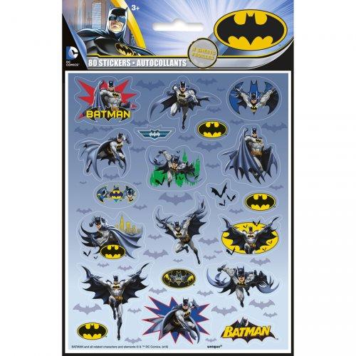 80 Stickers Batman DC