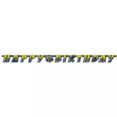 Guirlande Happy Birthday Batman DC (1,82 m)