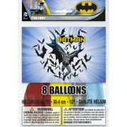 8 Ballons Batman DC
