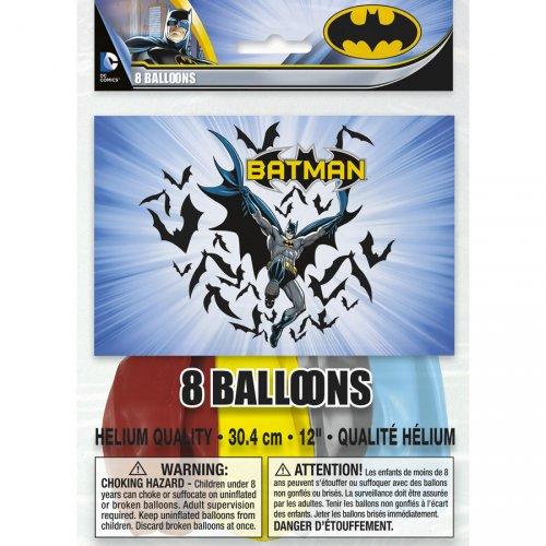 8 Ballons Batman DC