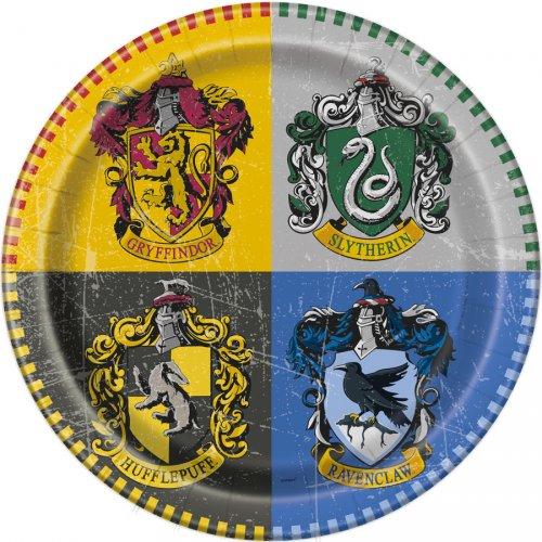 8 Assiettes Harry Potter
