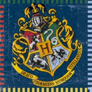 16 Serviettes Harry Potter