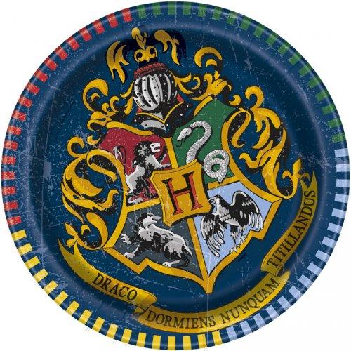 8 Petites Assiettes Harry Potter