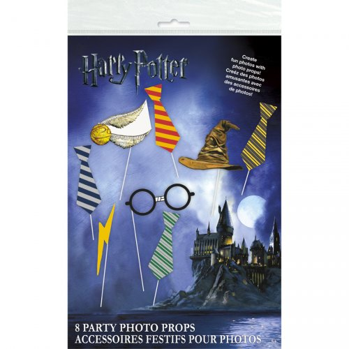 Kit 8 Photo Booth Harry Potter Pour L Anniversaire De Votre