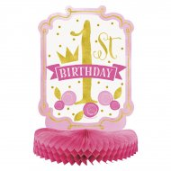 Centre de table 1 An Princesse (35 cm)