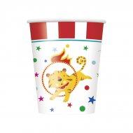 8 Gobelets Happy Circus