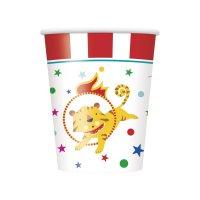 Contient : 1 x 8 Gobelets Happy Circus