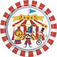 8 Petites Assiettes Happy Circus
