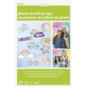 Kit 10 Photo Booth Licorne