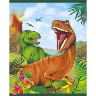 8 Pochettes à cadeaux Dino Jungle