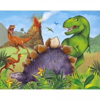 Jeu à fixer au mur Dino Jungle