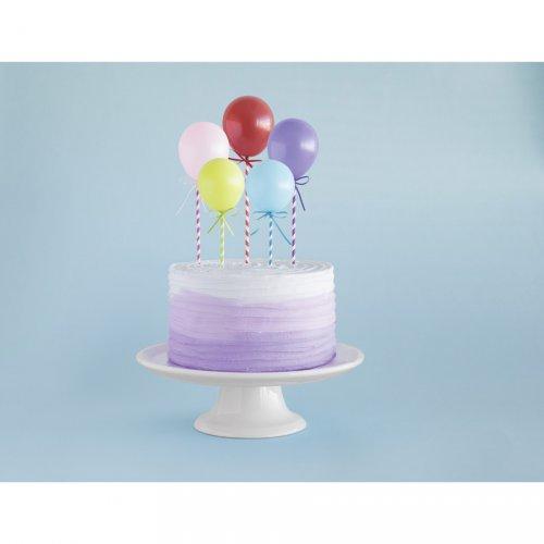 Décor à Gâteau Ballons Multicolores