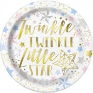 8 Assiettes Twinkle Twinkle Little Star