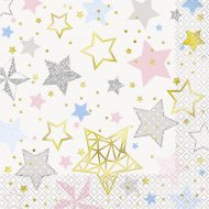 20 Serviettes Twinkle Twinkle Little Star