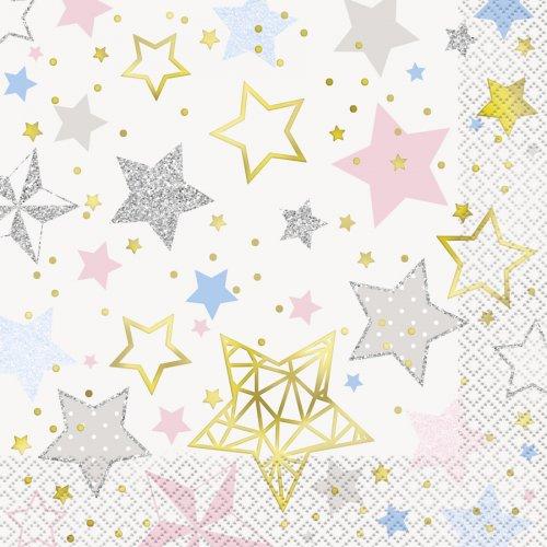 20 Serviettes Twinkle Twinkle Little Star