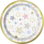 8 Petites Assiettes Twinkle Twinkle Little Star