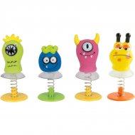 4 Mini Monstres Sauteurs (6 cm)