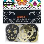 Confettis Halloween - Calavera Skull