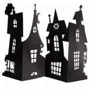 Centre de table Silhouettes Maisons Hantées (38 cm) - Carton