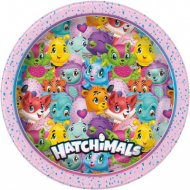 8 Assiettes Hatchimals