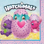 16 Serviettes Hatchimals
