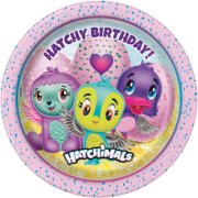 8 Petites Assiettes Hatchy Birthday Hatchimals