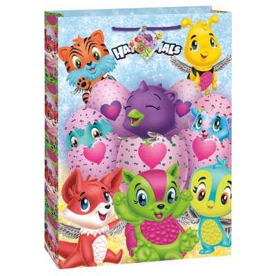 Grand Sac Cadeau Hatchimals (32,5 cm) - Carton