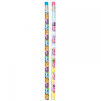 8 Crayons Papier Hatchimals