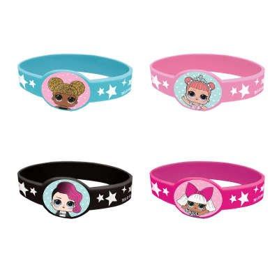 4 Bracelets LOL Surprise - Silicone
