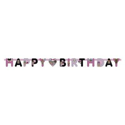 Guirlande Happy Birthday LOL Surprise