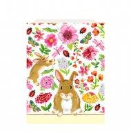 8 Pochettes à Cadeaux Mon Joli Lapin (21 cm) - Papier