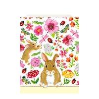 Contient : 1 x 8 Pochettes à Cadeaux Mon Joli Lapin (21 cm) - Papier