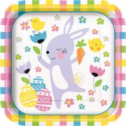 8 Assiettes Lapin JOY Oeufs