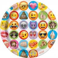 8 Assiettes Emoji Celebration