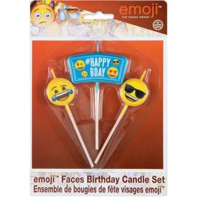 3 Bougies Emoji Celebration