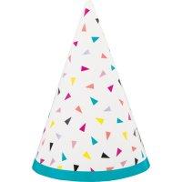 Contient : 1 x 8 Mini Chapeaux Fantaisie Pop