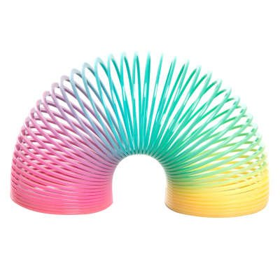 8 Ressorts Rainbow - Plastique