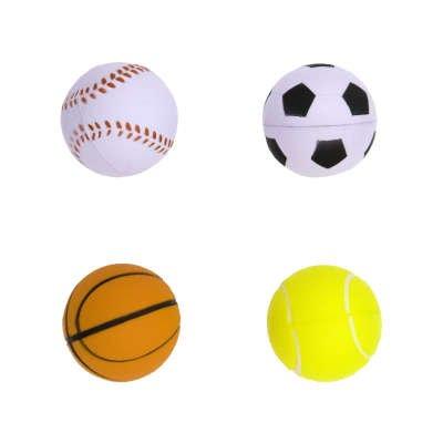 4 Balles en Mousse - Sports