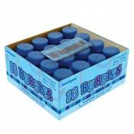 16 Mini Bulles de Savon - Bleu