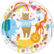 8 Petites Assiettes ZOO Baby