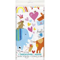 Contient : 1 x Nappe ZOO Baby