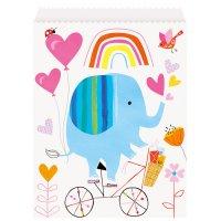 Contient : 1 x 8 Pochettes à cadeaux ZOO Baby - Papier