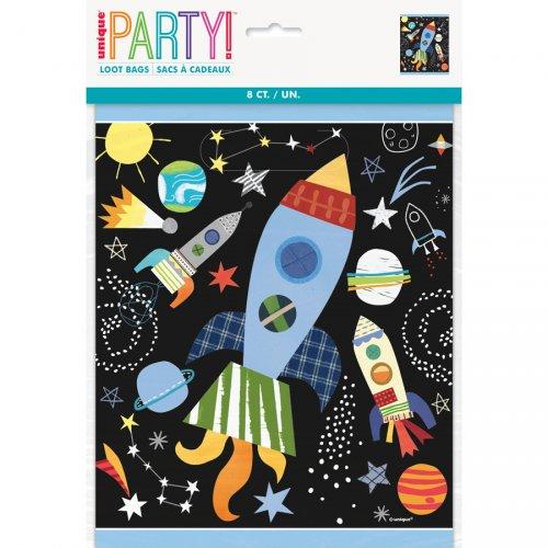 8 Pochettes à Cadeaux Cosmos Party