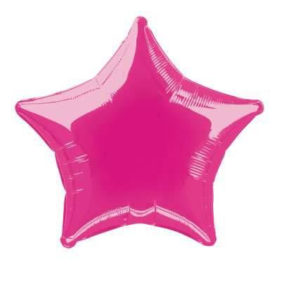 Ballon Etoile Rose Métal (50.8 cm)