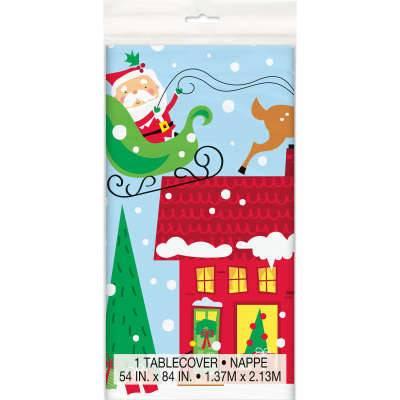 Nappe - Maison de Noël