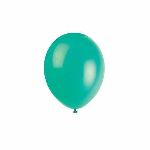10 Ballons Vert Fougère