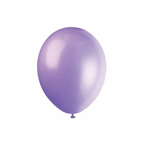 10 Ballons Lilas