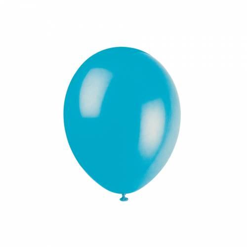 10 Ballons Turquoise