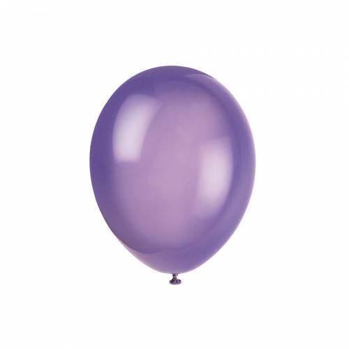10 Ballons Violet