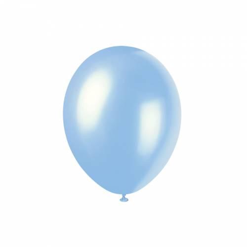 8 Ballons Bleu